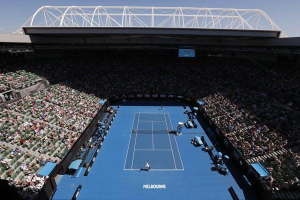 Australian Open, ilustračná foto.