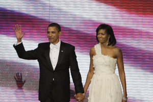 Nádherný párik. Michelle Obamová bola osem rokov dokonalou prvou dámou.