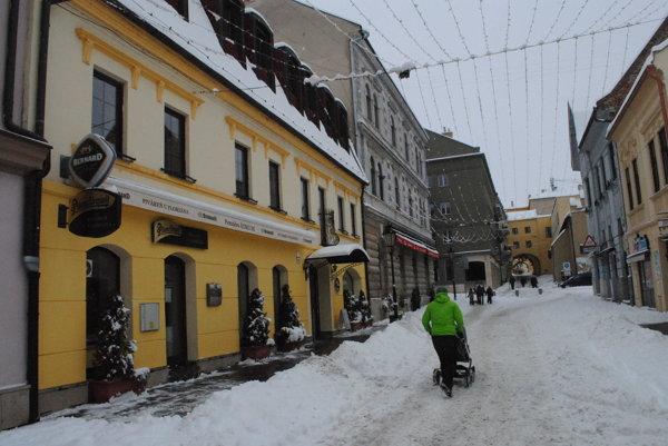 Átruim na Floriánovej ulici v Prešove.