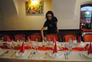 Reštaurácia v Átriu.