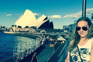 Život v Austrálii si Erika naplno užíva.