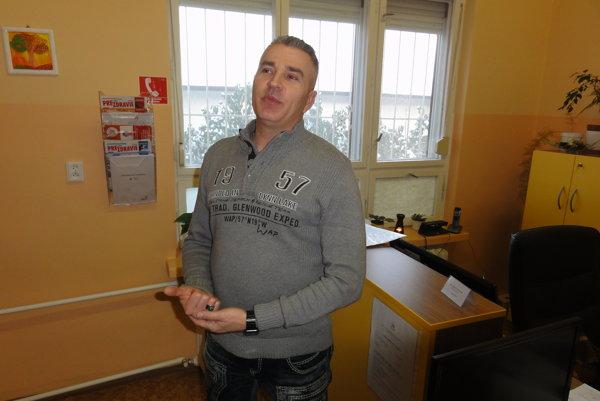 Riaditeľ Zlatého veku Marek Jankulár.