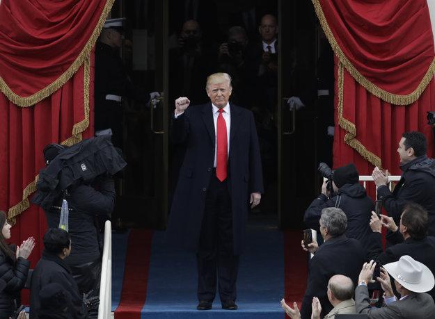 Donald Trump prišiel na Kapitol.