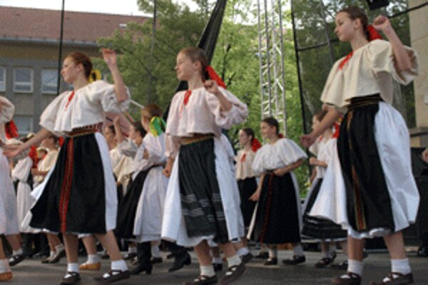 Súbor Malý Vtáčnik nebude chýbať ani na tohtoročných mestských dňoch.