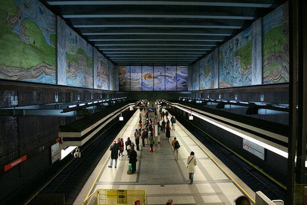 Stanica Volkstheater viedenského metra.