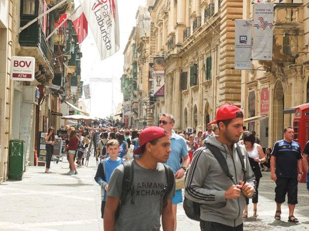 Hlavná ulica v meste