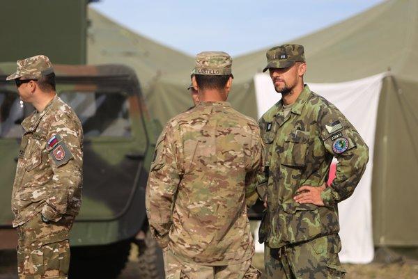 Na snímke vojaci počas medzinárodného cvičenia TOBRUQ LEGACY 2016, ilustračná foto.
