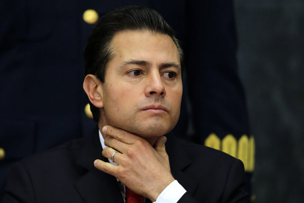 Mexický prezident Enrique Peňa Nieto.