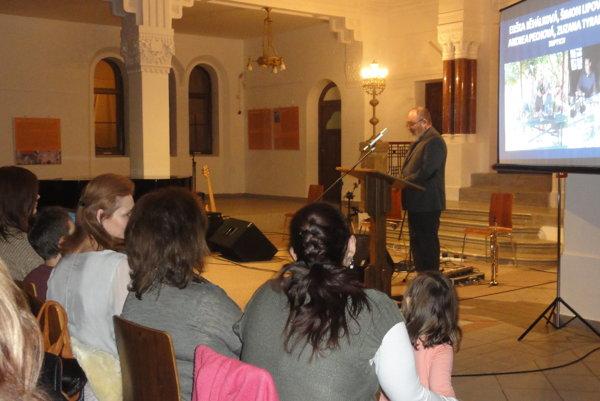 V synagóge už po šiestykrát ocenili dobrovoľníkov Nitry.