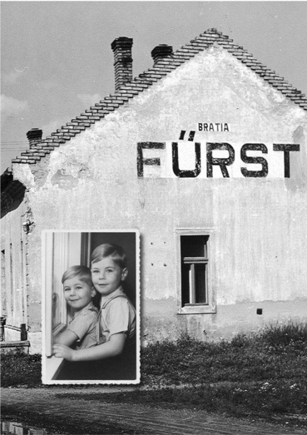 Naftali Furst s bratom.