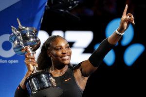 Serena Williamsová je tohtoročnou šampiónkou Australian Open.