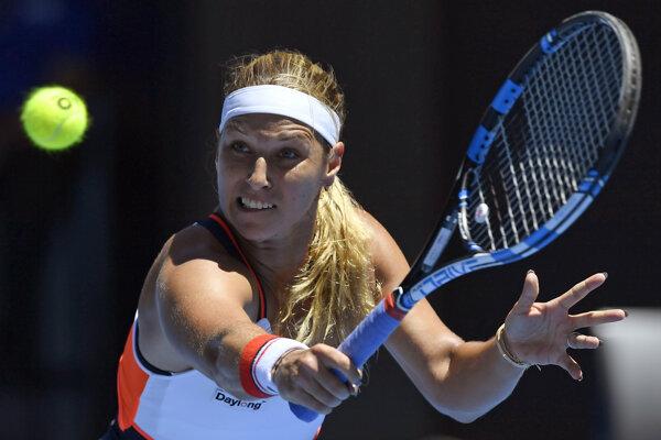 Dominika Cibulková nastúpi prvý raz odvtedy, ako vypadla na Australian Open v treťom kole.