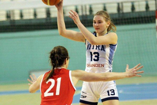 Viktória Fehérová bola s 24 bodmi najlepšou strelkyňou zápasu.