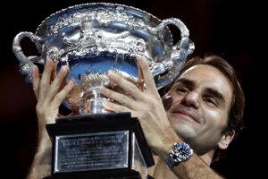 Švajčiarsky tenista Roger Federer sa stal po piaty raz víťazom mužskej dvojhry na grandslamovom Australian Open.