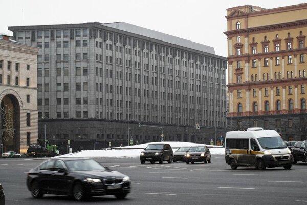 Ibragimov tvrdí, že návštevu Krymu mu zakázala ruská Federálna bezpečnostná služba (FSB). Na snímke jej riaditeľstvo v Moskve.