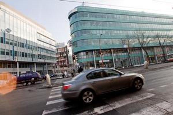 Apollo Business Center neďaleko centra Bratislavy.