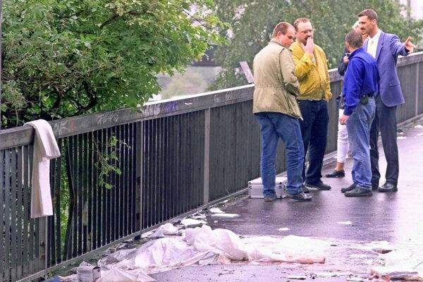 Miesto kde došlo v roku 2000 k bombovému útoku.
