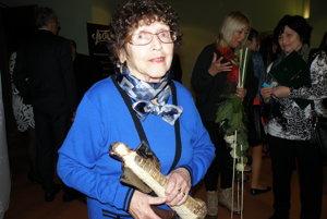 Ružena Becková získala Prievidzského anjela za udržiavanie tradície židovstva v meste.