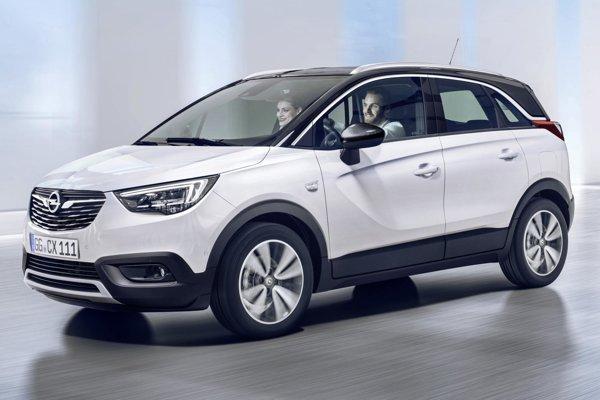 Opel Crossland X vstupuje na slovenský trh.