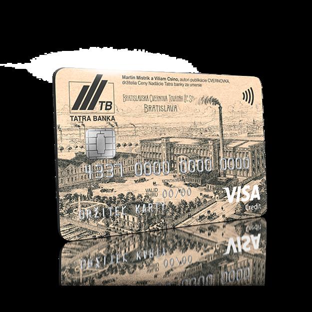 Limitovaná edície kreditnej karty venovaná Cvernovke