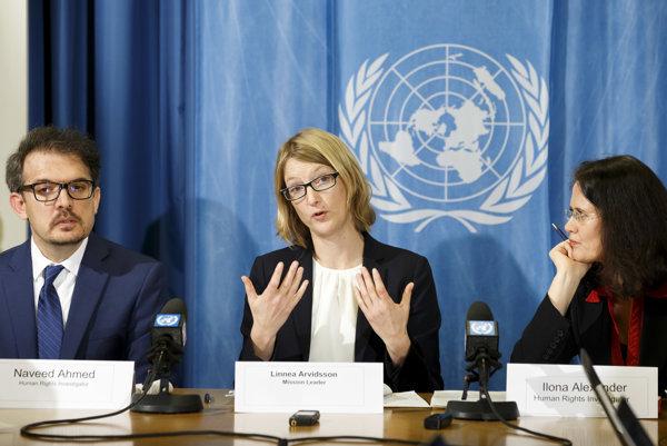Vyšetrovatelia OHCHR vypočuli približne 200 Rohingov, ktorí našli útočisko v Bangladéši.