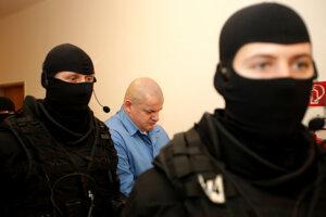 Odsúdený expolicajt Róbert Petluš.