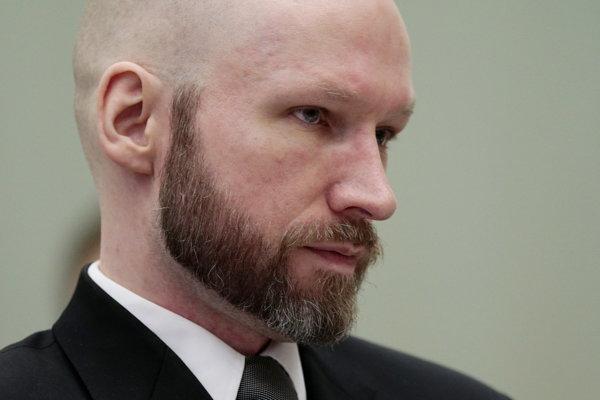 Odsúdený nórsky pravicový extrémista a masový vrah Anders Breivik.