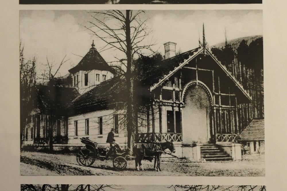 Snímka z Rožňavských kúpeľov.