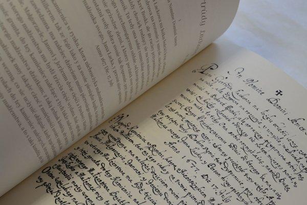 Unikátna kniha testamentov.