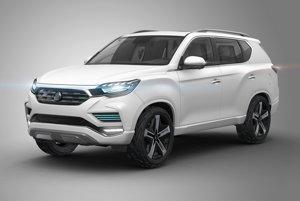 Koncept SsangYong LIV-2 predstavila kórejská automobilka minulý rok v Paríži