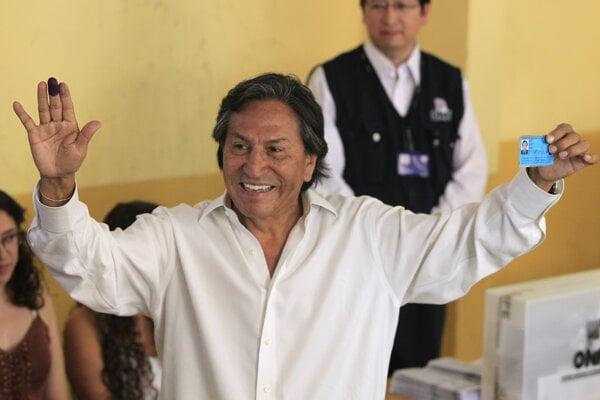 Exprezident Peru Alejandro Toledo.