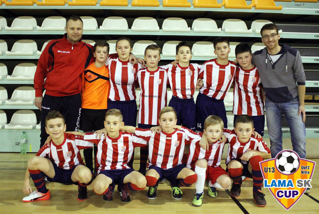 Tretie miesto získal tím ČFK Nitra B.
