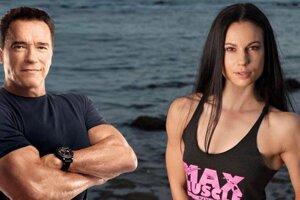 Táto fotografia hovorí sama za seba. Niki Perina s Arnoldom Schwarzeneggerom.