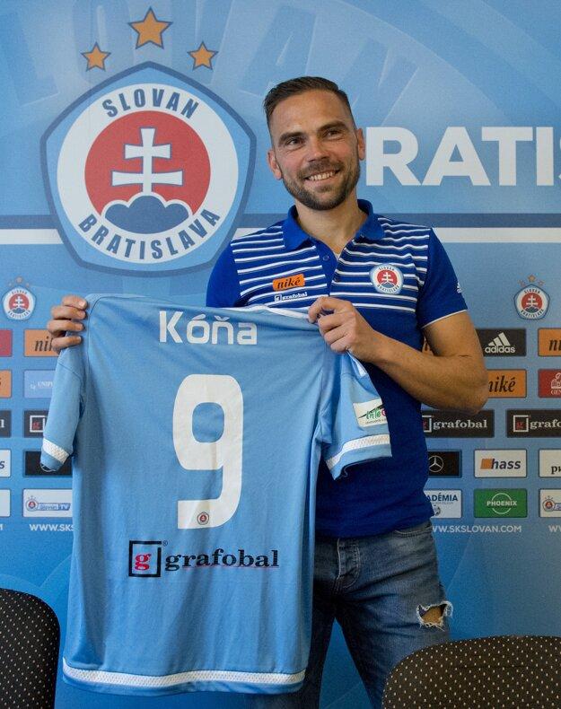 Klub predstavil aj novú posilu Tomáš Kóňu.