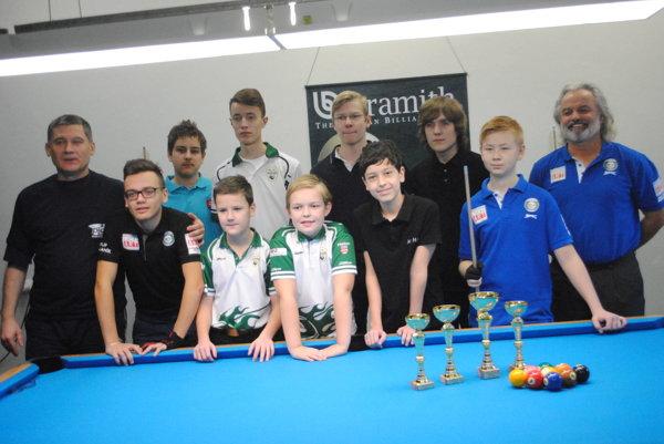 Účastníci turnaja v Prešove.