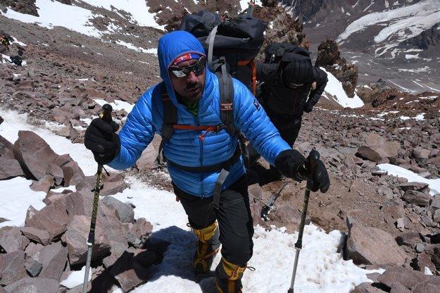 Aconcagua. Cestou na vrchol.