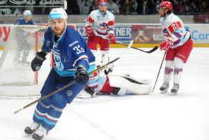 Tibor Kutálek sa v nedeľu radoval z dvoch gólov.