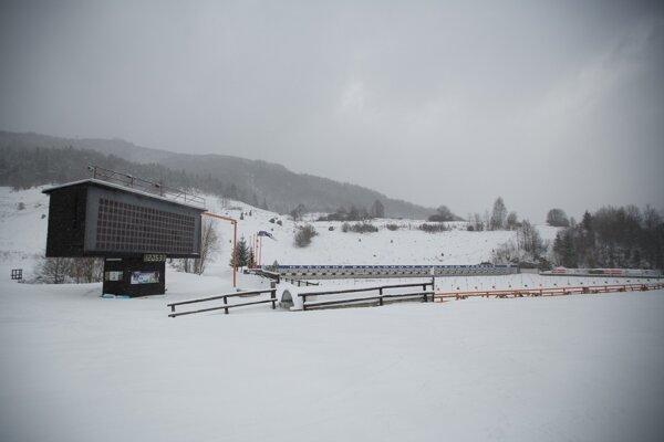 Na snímke strelnica v areáli Slovenského biatlonového centra v Osrblí.