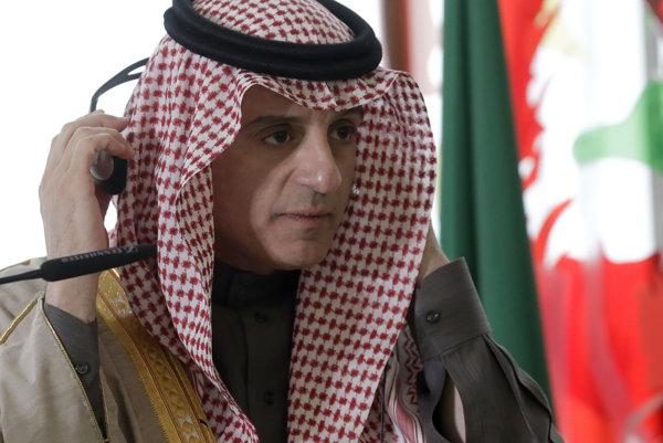Minister zahraničných vecí Saudskej Arábie, Ádil Džubajr.
