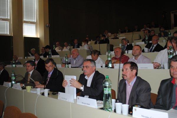 Prešovskí župní poslanci upravovali rozpočet.