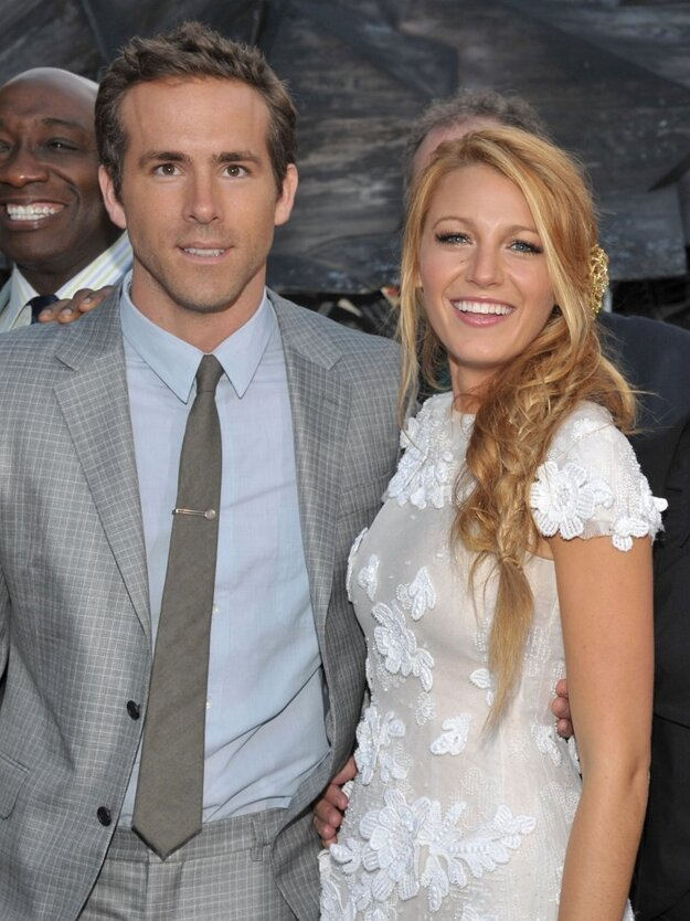 Blake Lively a Ryan Reynolds.