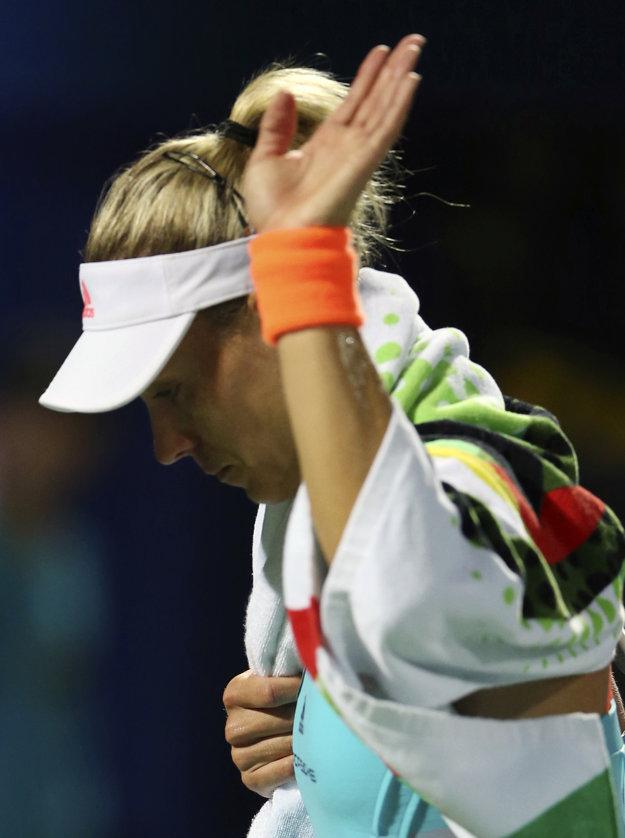 Angelique Kerberová je už opäť svetovou dvojkou.