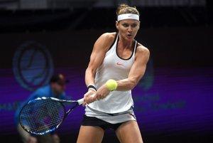 Lucie Šafářová sa v Maďarsku dostala až do finále.