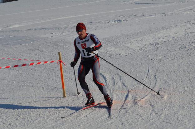 Marian Ponek na bežkárskom úseku.