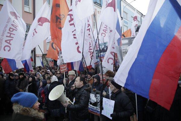 Fotografia z demonštrácie.