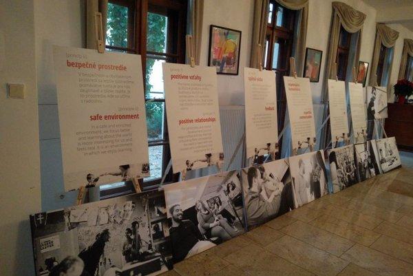 Fotografie na výstavu vznikali vo viacerých slovenských školách, ktorých učitelia absolvovali vzdelávacie programy Nadácie pre deti Slovenska.