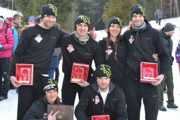 Elite team OCRA Slovakia po pretekoch vo Svite.