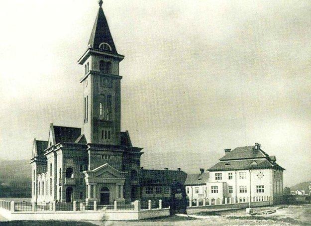 Evanjelický kostol v Ružomberku posvätili v roku 1926.