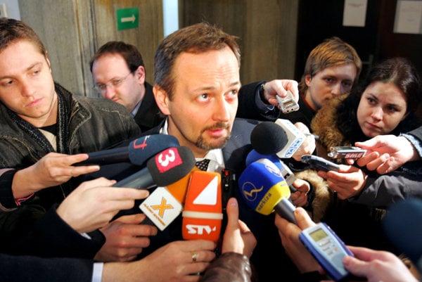 Ivan Lexa na pojednávaní v roku 2005.