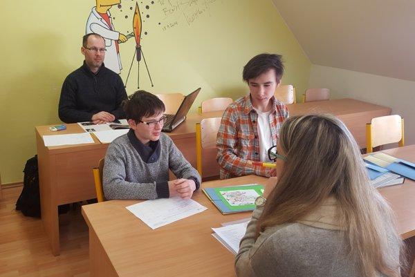 Martin a Ondrej Krajčovičovici na preskúšaní v Brezovej
